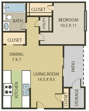1 Bedroom | 1 Bath