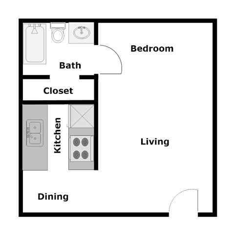 Woodside E3 Floor Plan 3