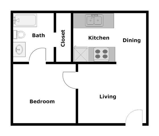 Woodside A1 Floor Plan 4