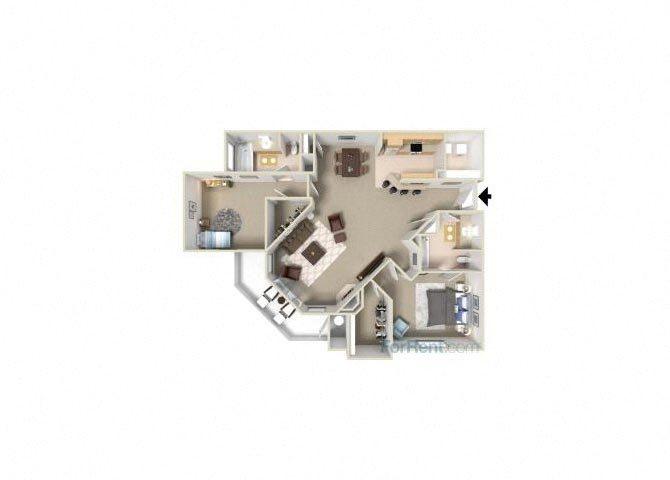 Cumberland floor plan.