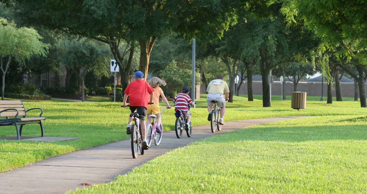 River Terrace Apartments | Biking