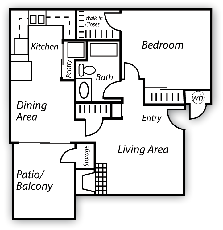 Cobble Floor Plan 1