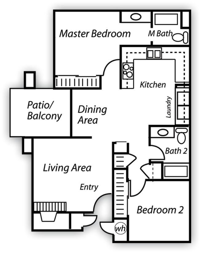 Granite Floor Plan 3