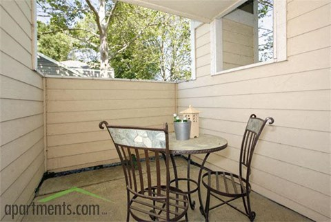 Private Patios | Riverstone apts for rent in Sacramento