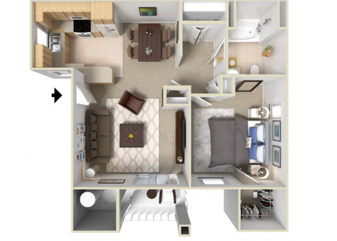 Rivera Floor Plan 1