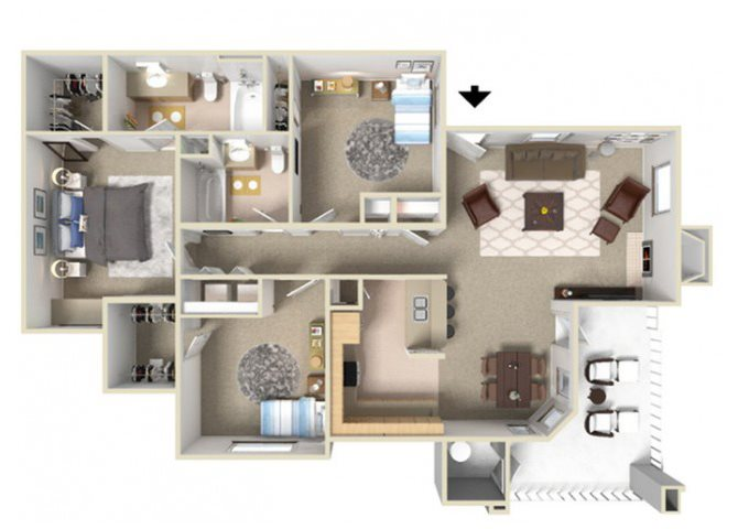 Sabina Floor Plan 4