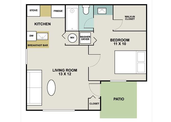 Spyglass at Cedar Cove Junior Floor Plan