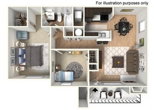 Spyglass at Cedar Cove Mandalay Floor Plan