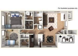 Spyglass at Cedar Cove Hudson Floor Plan