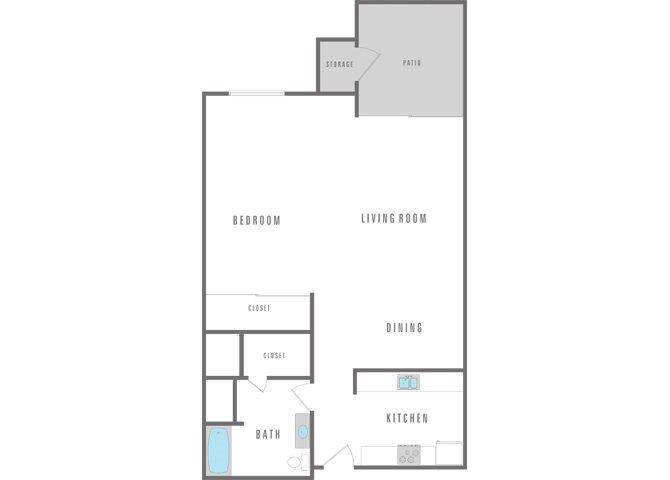 Studio Floor Plan 4