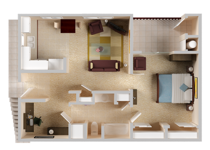 1-3 Bedroom Apartments in El Dorado Hills CA   Sterling Ranch on 1700 square foot floor plans, 1 bedroom house floor plans, single story 5 bedroom house floor plans,