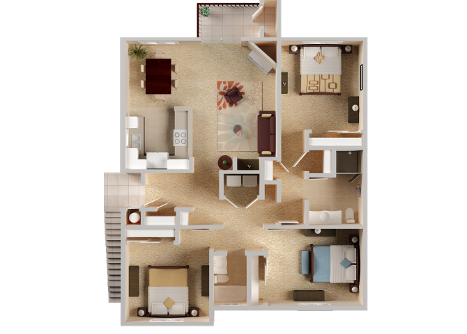 Zinfandel Floor Plan 6