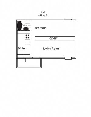 One Bedroom Small