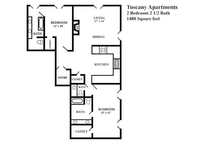 H Floor Plan 8