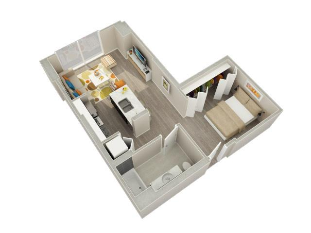Convertible 08 Floorplan At Catalyst Chicago Il 60661