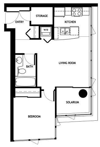 Studio Apartment Floor Plans 480 Sq Ft studio apartment floor plans 480 sq ft 400 sq ft cabin plan ~ home