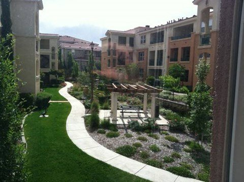The Phoenician Apartments | Roseville CA | Walkway
