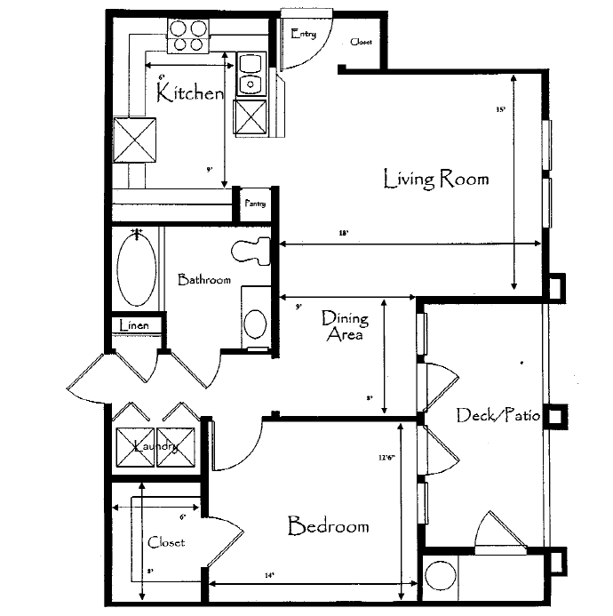 Apartments For Rent In Roseville Ca: Floor Plans Of THE PHOENICIAN In Roseville, CA