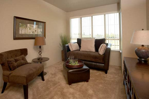 Living Room l Tressa Apartments in Seattle WA