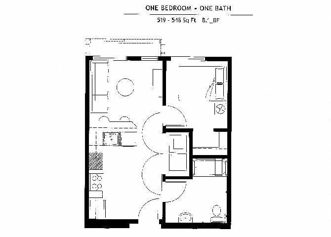 B1BF Floor Plan 9