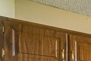 Updated kitchen at Mill Creek Apartments in Abilene, TX