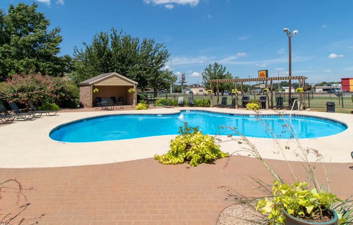 Pool at Mill Creek Apartments in Abilene TX
