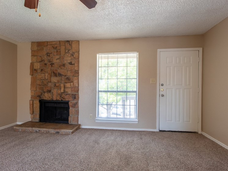 Living room at Mill Creek Apartments in Abilene TX