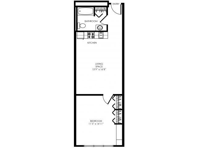 1B-B Floor Plan 8