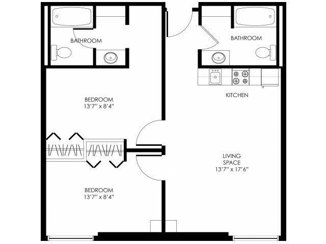 2B-A Floor Plan 5