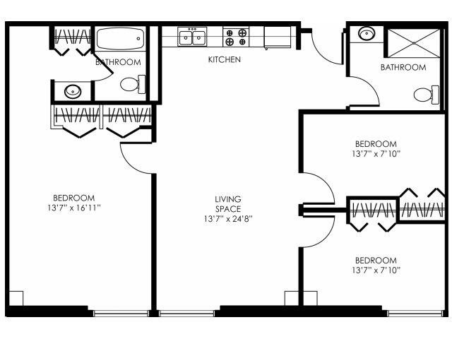 3B-C Floor Plan 3