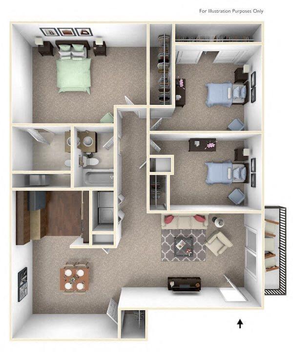 Maplewood Floor Plan 5