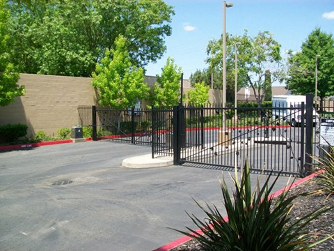 Entry Gate  l Vineyard Gate Apartments in Roseville CA