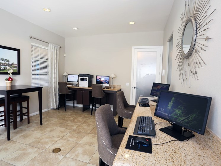Business Center at Waterstone at Moorpark in Moorpark apts for rent