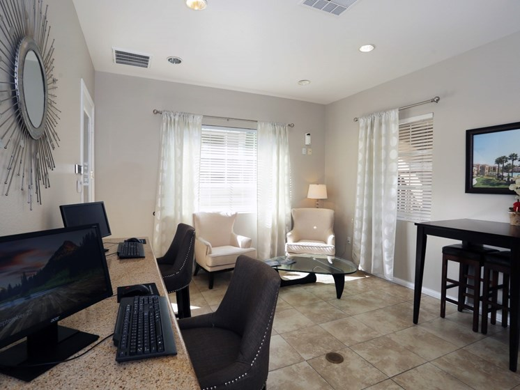 (furnished) Living Room at Waterstone at Moorpark in Moorpark apts for rent