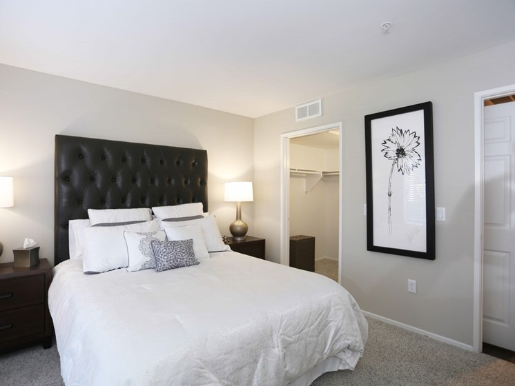 Spacious bedrooms at Waterstone at Moorpark in Moorpark, CA 93021