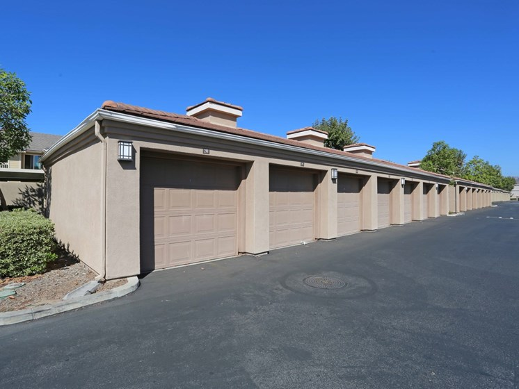 Private garages | Waterstone at Moorpark in Moorpark apts for rent