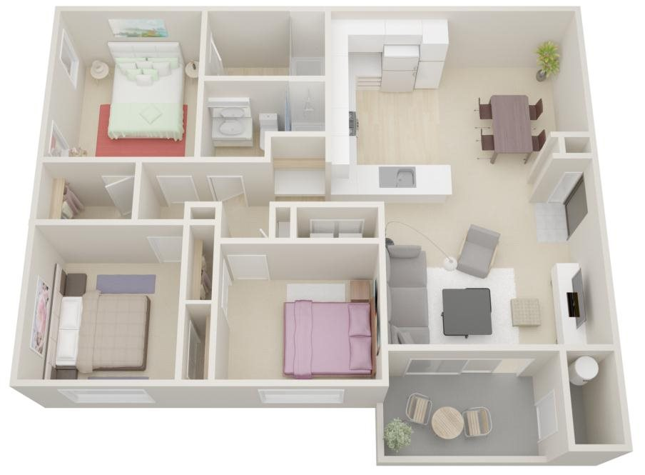 Plan Four Floor Plan 4