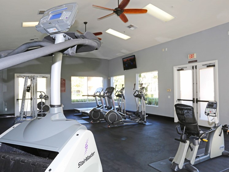 Fitness Center at Waterstone at Moorpark in Moorpark apts for rent