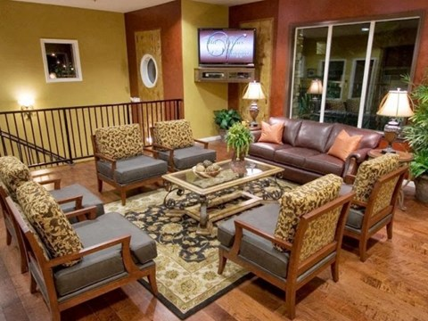 Clubhouse l The Villas at Villaggio Apartments in Modesto CA