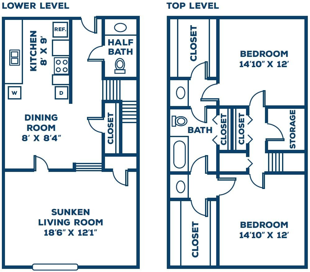 The Hickory Floor Plan 1