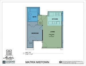 Matrix Midtown Unit 101