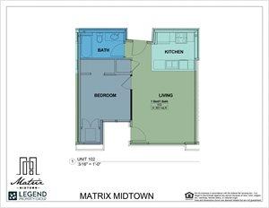 Matrix Midtown Unit 102