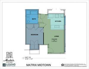 Matrix Midtown Unit 103