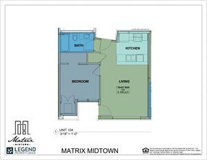 Matrix Midtown Unit 104