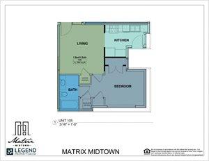 Matrix Midtown Unit 105
