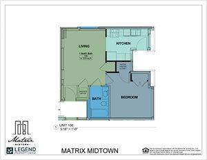 Matrix Midtown Unit 106