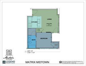 Matrix Midtown Unit 107