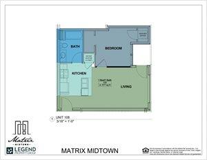Matrix Midtown Unit 108