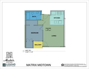 Matrix Midtown Unit 201