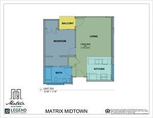 Matrix Midtown Unit 203